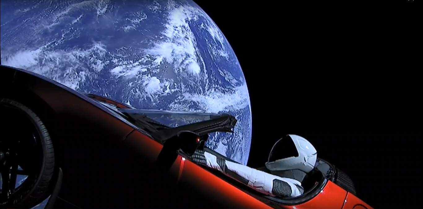 Tesla-Roadster-in-Space-Svamir-Elon-Musk-SpaceX-First-car-in-space-Tesla-Roadster-u-svemiru