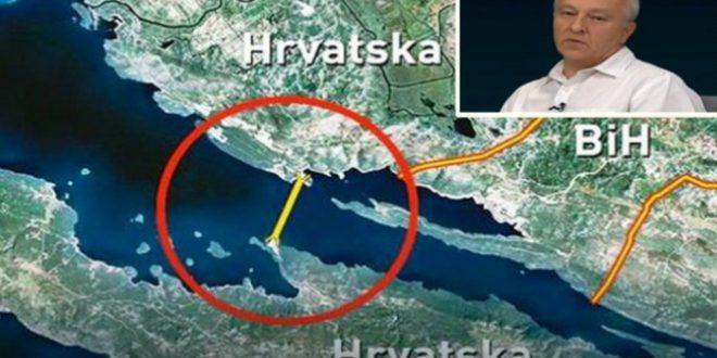 Pelješkim mostom Hrvatska zatvara BiH, i to lažiranim dokumentom