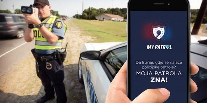 DOBRA VIJEST-Aplikacija koja Vam pokazuje gdje su policijske patrole, kamere i radari