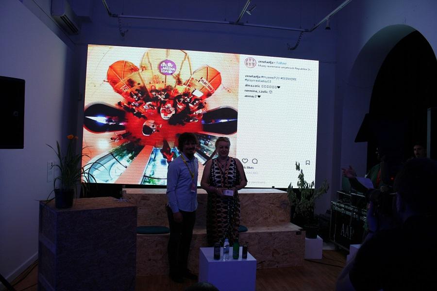 Dobitnica prve nagrade za kreativnu fotografiju PlayMediaDay 03 Vrhunskog telefona Huawei P20 Ornela Terzić Cofounder portala Poslovnidnevnik.ba