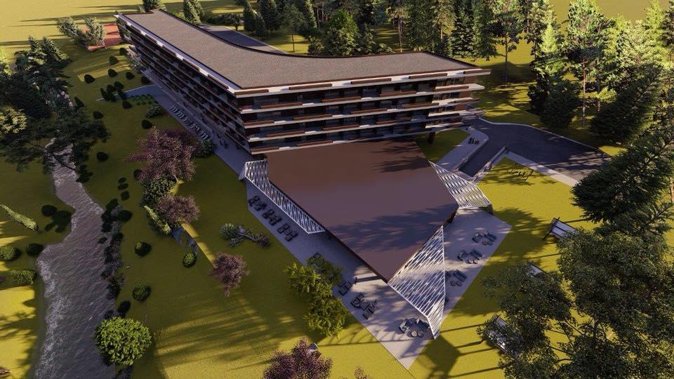 buduće idejno rješenje hotela Sedra