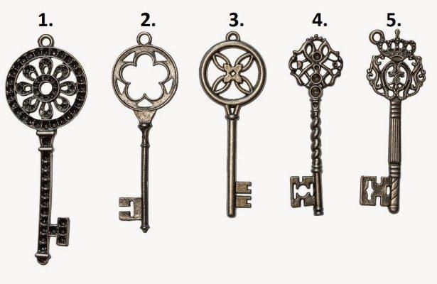 Kojim ključem biste otvorili kovčeg s blagom? Saznajte šta to govori o vama