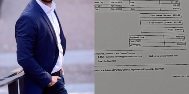 NEVIĐENI SKANDAL: Konakovićev fićfirić Nermin Muzur platio taksi usluge u Londonu 573 KM!