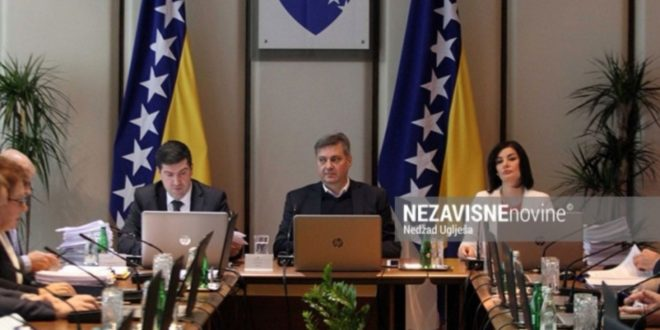 Savjet ministara BiH o povećanom prilivu migranata
