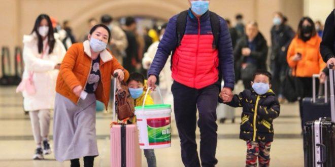 Kina:Ljudi padaju kao pokošeni