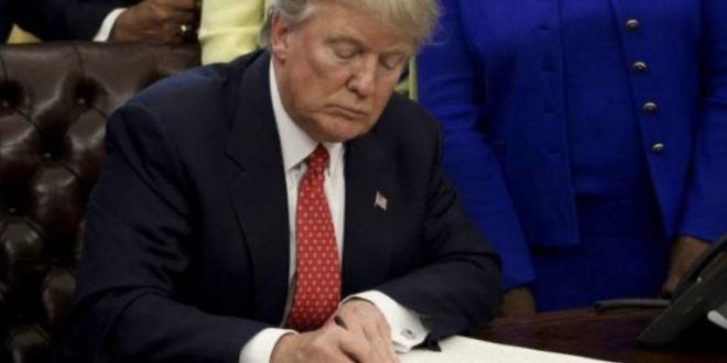 SAD kažnjava Kinu -Trump potpisao dekret