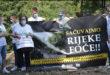 Održan protest građana Foče protiv izgradnje mHE na rijekama Bjelava, Velika i Mala Bjelava